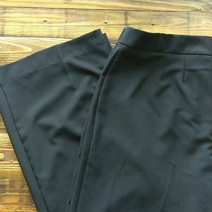 Worthington size 12 wide leg black dress slacks